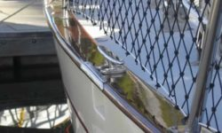 Yacht rail restoration