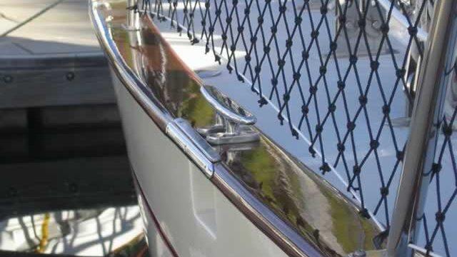 Yacht rail restoration